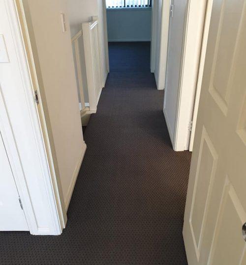 carpet connect-installation-pattern-hallway